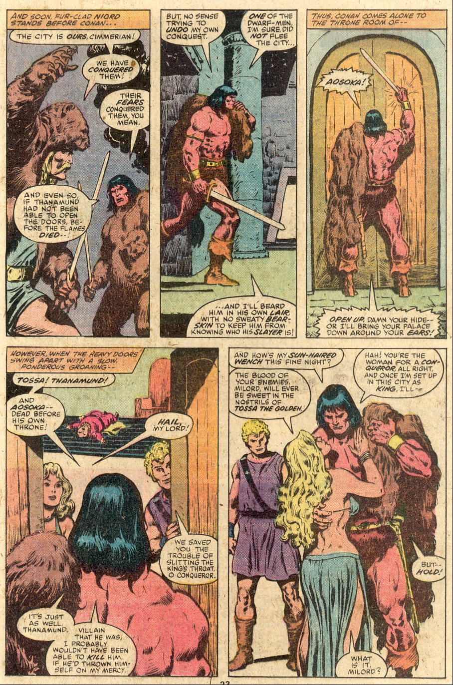 Conan the Barbarian (1970) Issue #112 #124 - English 14