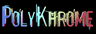 The current temporary PolyKhrome Blog logo