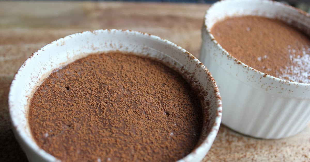 chai  cake chocolate pudding
