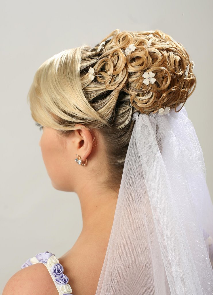 Assyams Info Bridal Hairstyle 2012