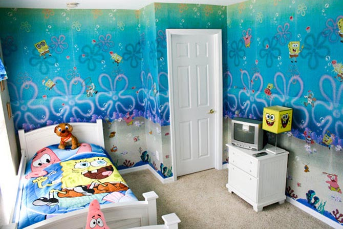 Design Childrens BedroomSpongeBob Characters Patrick Comedy