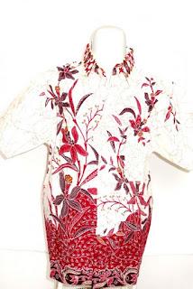 Model baju batik anak terbaru