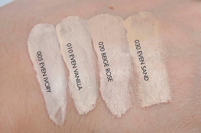 Catrice Even Skin Tone Beautifying Foundation SWATCH