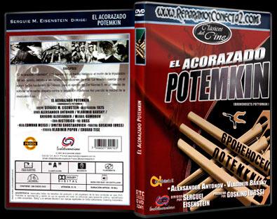 El Acorazado Potemkin [1925] Caratula - cine clasico mudo