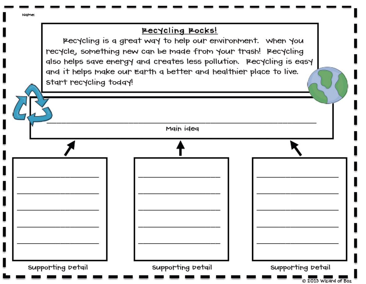 1 what is your main idea or career focus Are you looking for free worksheets to give your students practice these main idea worksheets and main idea worksheet 1 – students read seven.