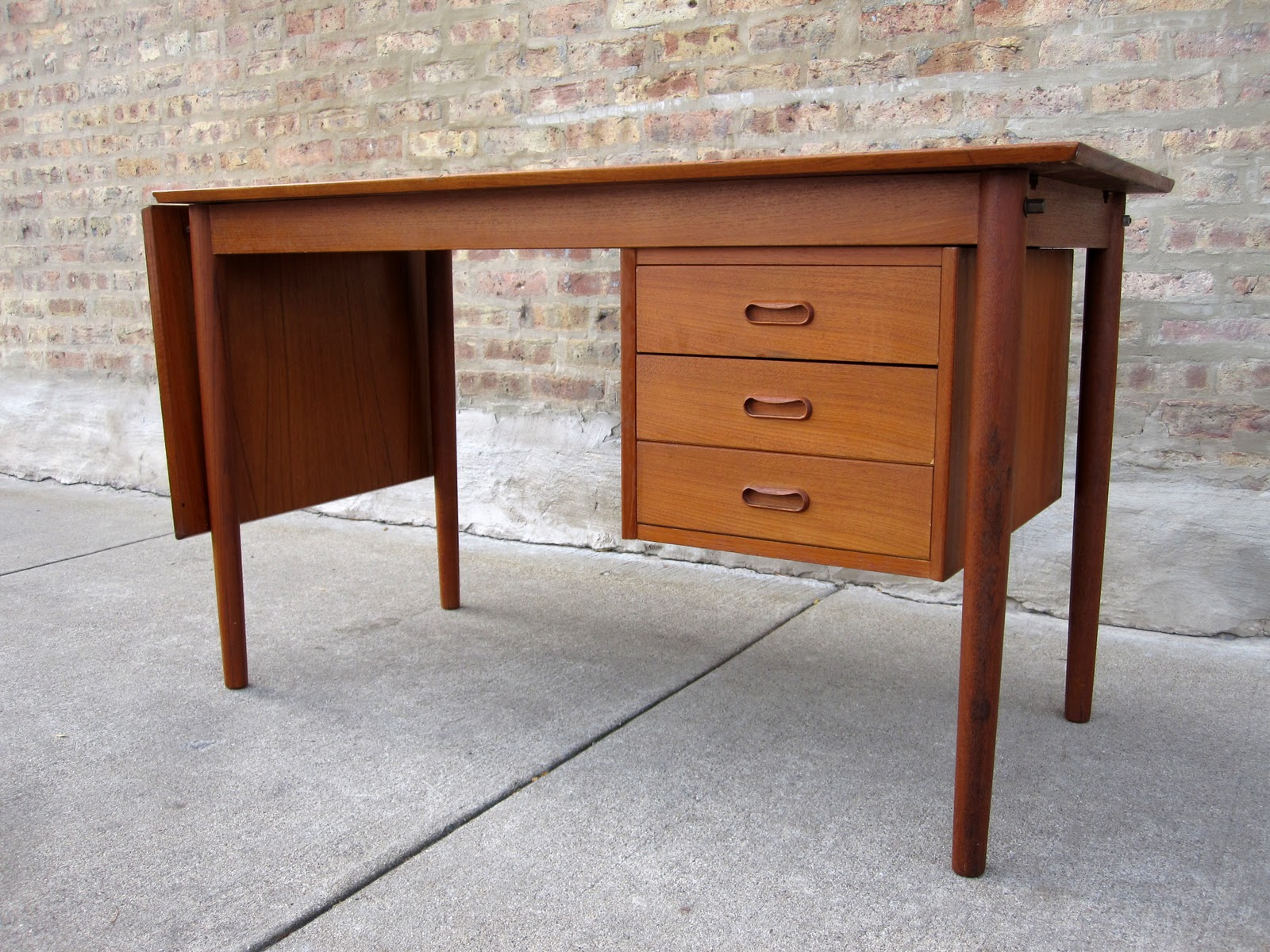 or decaso high modern bookcase front teak end pull danish bow chest out desk bachelor product secretary