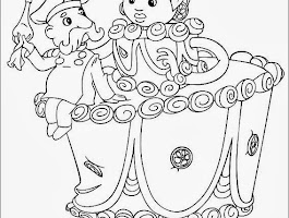 Sand Cat Coloring Pages
