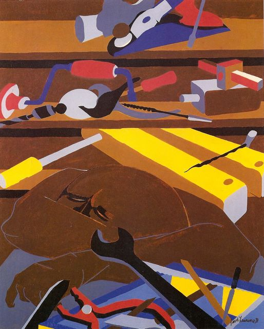 Jacob Lawrence 1917-2000 | African American Expressionist painter.
