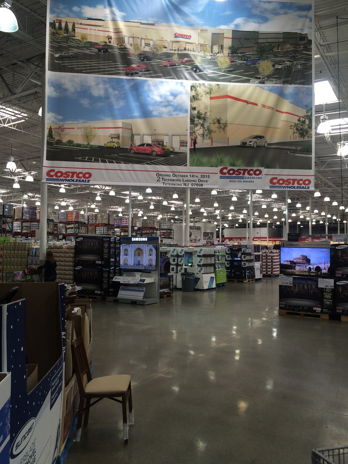do you really know what you re eating costco offers cash cards at the costco whole in hackensack a large banner shows what the bigger teterboro store is expected to look like when it opens oct 14