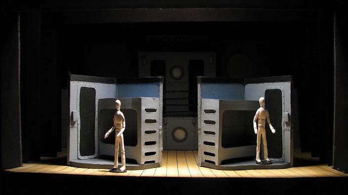 Lance Cardinal Creative Blog: Anything Goes - Set Design