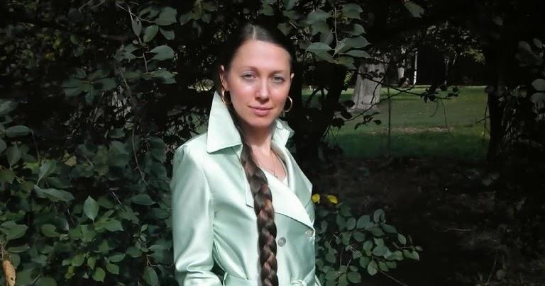 Svetlana Minikina Girl With Very Long BraidGirls With