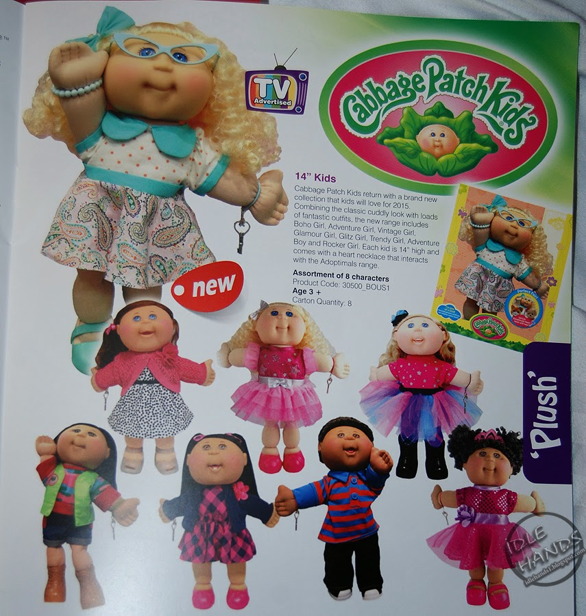 Different kinds of cabbage patch adoption papers
