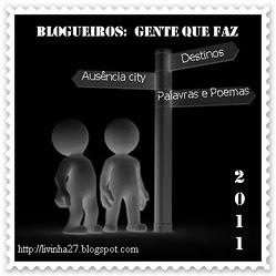 Carinhoso presente da amiga Livinha do blog: Palavras e Poemas