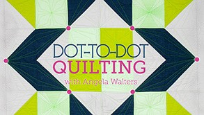Craftsy Sale: Dot-to-Dot with Angela Walters only $9.99