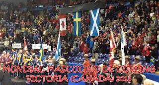 CURLING-Mundial masculino Victoria 2013