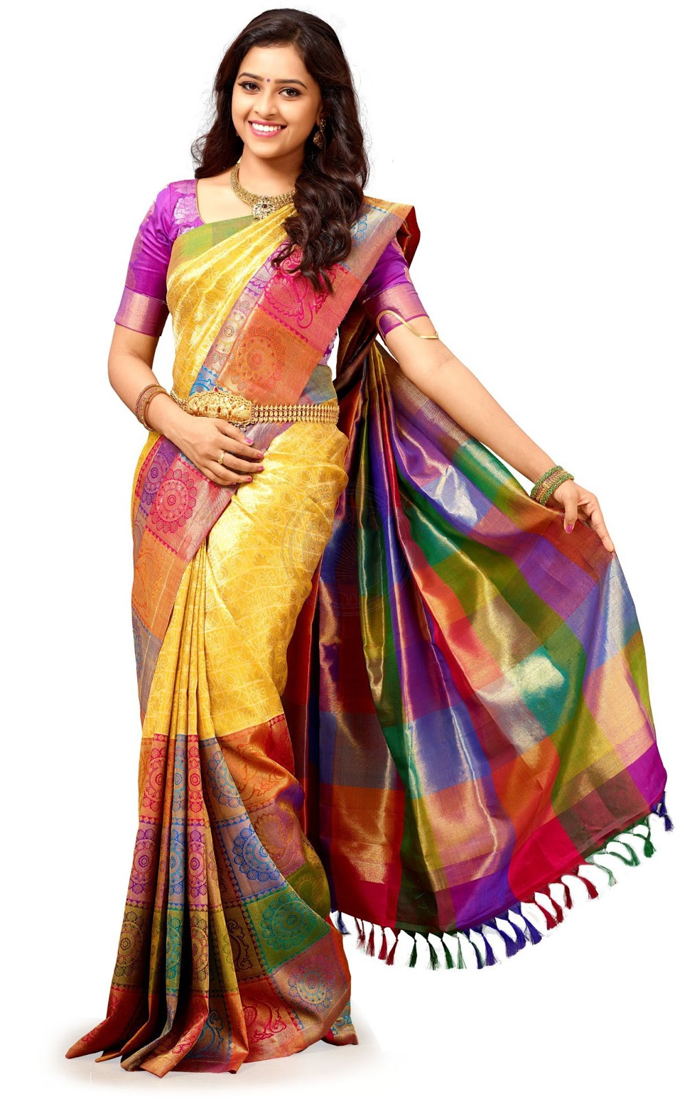 Chennai Silks Designer Silk  Saree collections