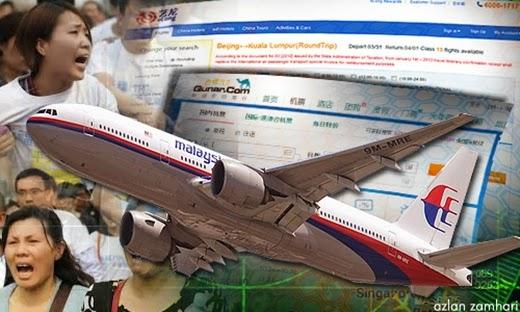 MH370, Malaysia, China, MAS, Pelancongan