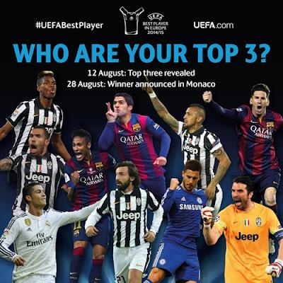 Melhores jogadores UEFA - 2014/15