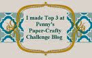 top 3 Penny`s Paper-Crafty Challenge blog nº 208