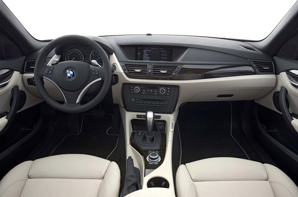 are the parameters which separates the X1 from the 3 series. INTERIOR