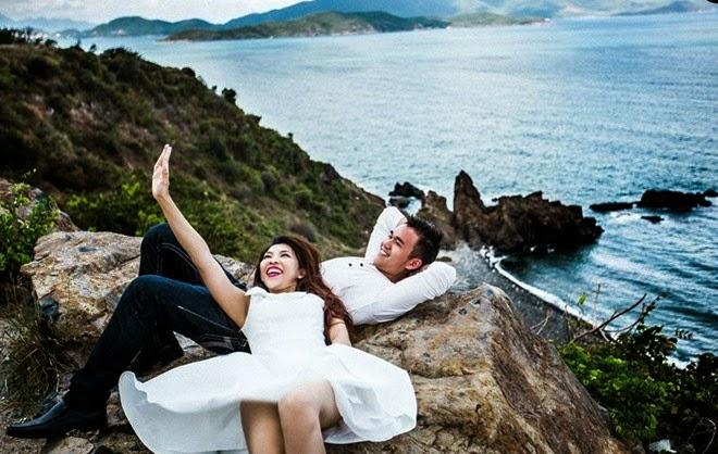 hình ảnh cưới việt kiều mỹ ở nha trang