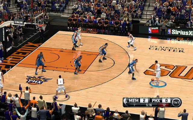 Suns HD Court | NBA 2K14 PC Mod