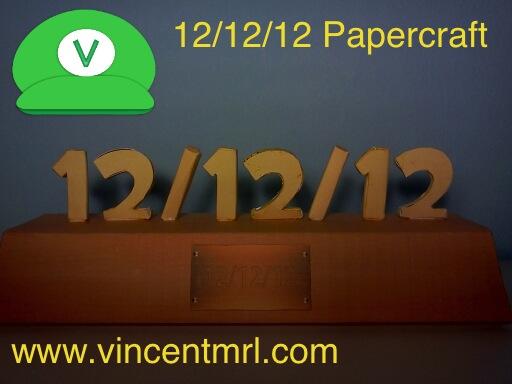 121212 Papercraft