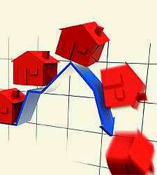 El precio de la vivienda cae casi un 10% en febrero frente al mismo mes de 2013.