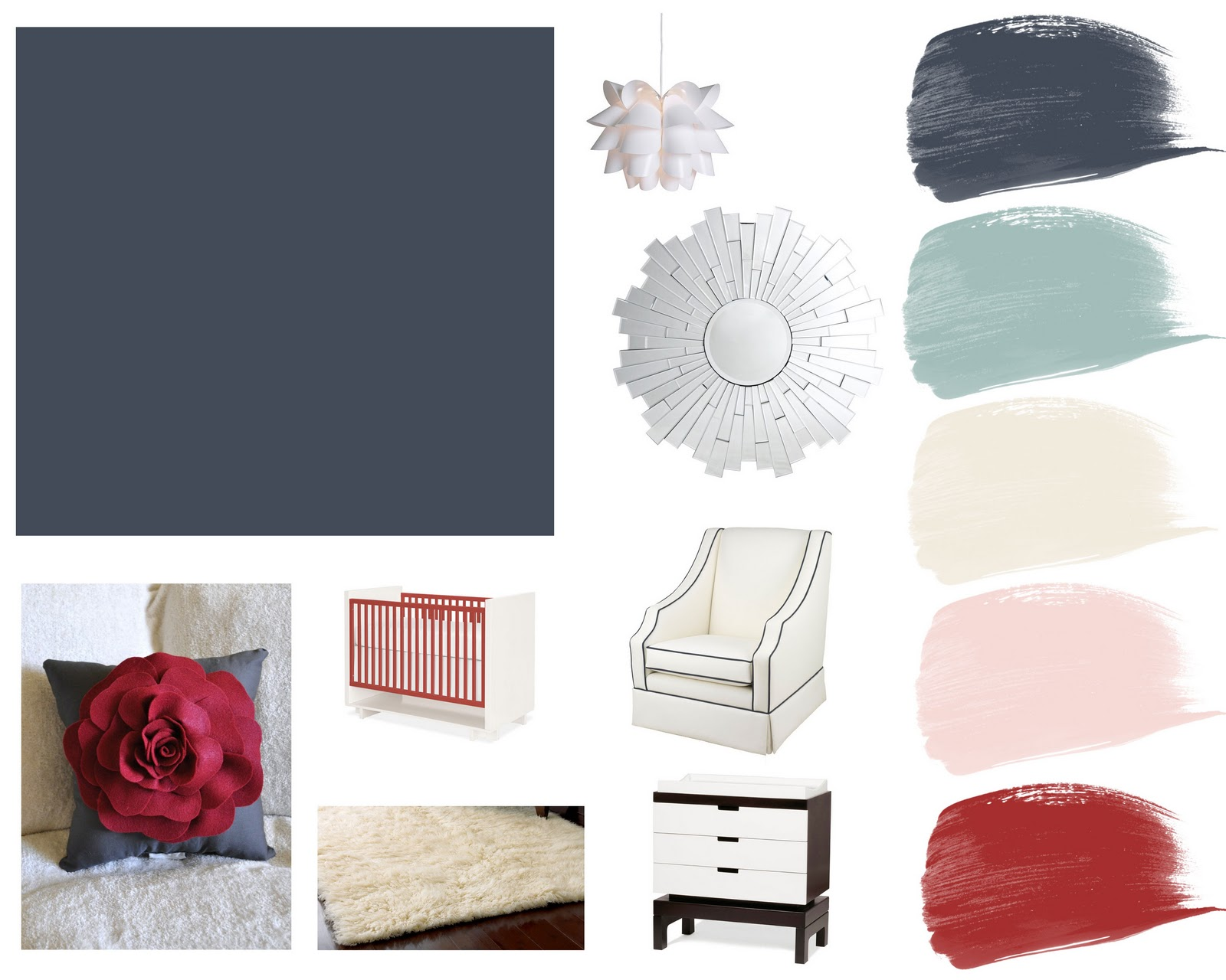 collecting lovely inspiration board hague blue nursery for baby girl