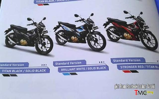 Pilihan Warna Suzuki Satria FU 150 Injeksi