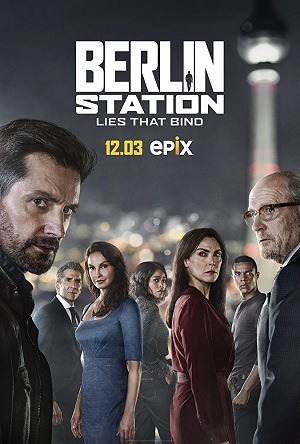 Berlin Station - 3ª Temporada Séries Torrent Download capa