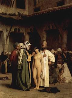 Mercado de esclavos - Gérôme