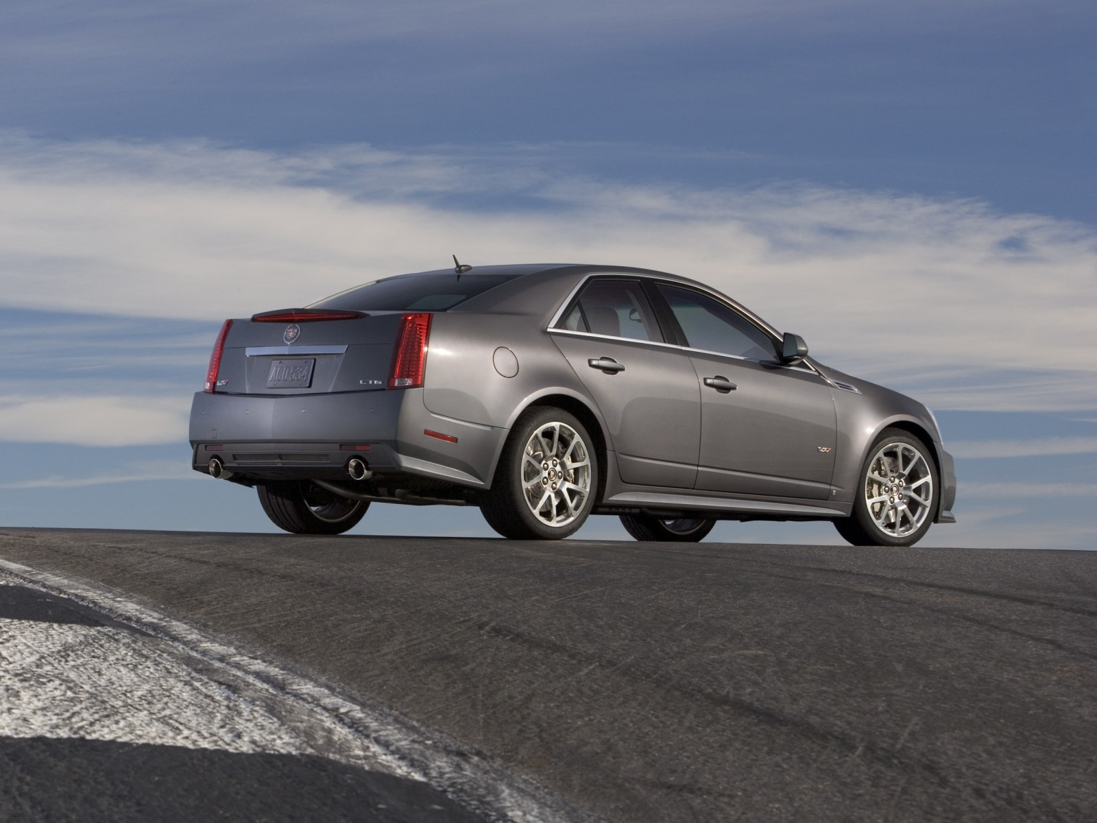 2009 Cadillac CTS V Wallpapers Images Pictures