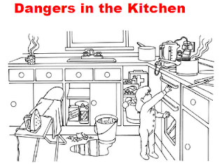 Worksheet Kitchen Safety Worksheets teaching students with learning difficulties dangers in the kitchen from home safety game