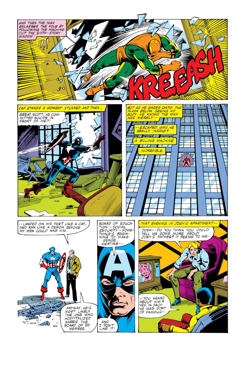 Captain America (1968) Issue #246 #161 - English 11