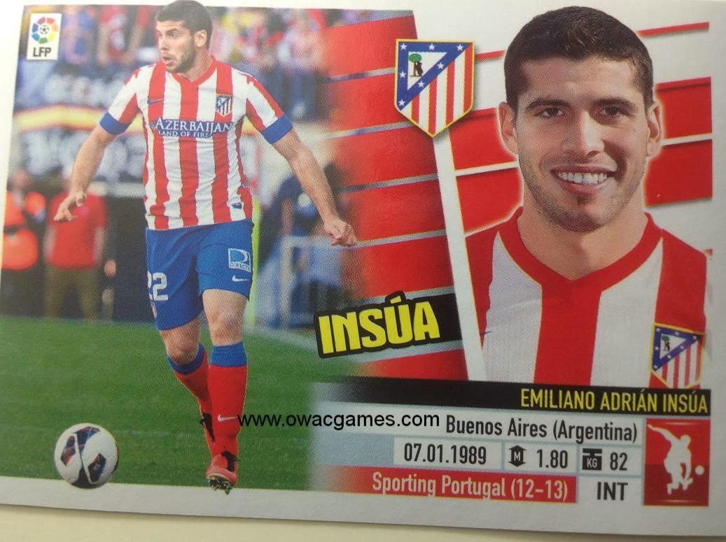 Liga ESTE 2013-14 Atl. de Madrid - 6A - Insúa