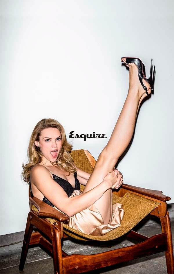 sexy Erin Richards Esquire