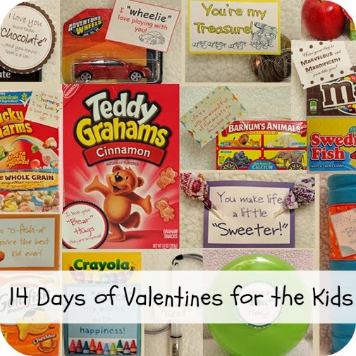 14 days of valentines for the kids