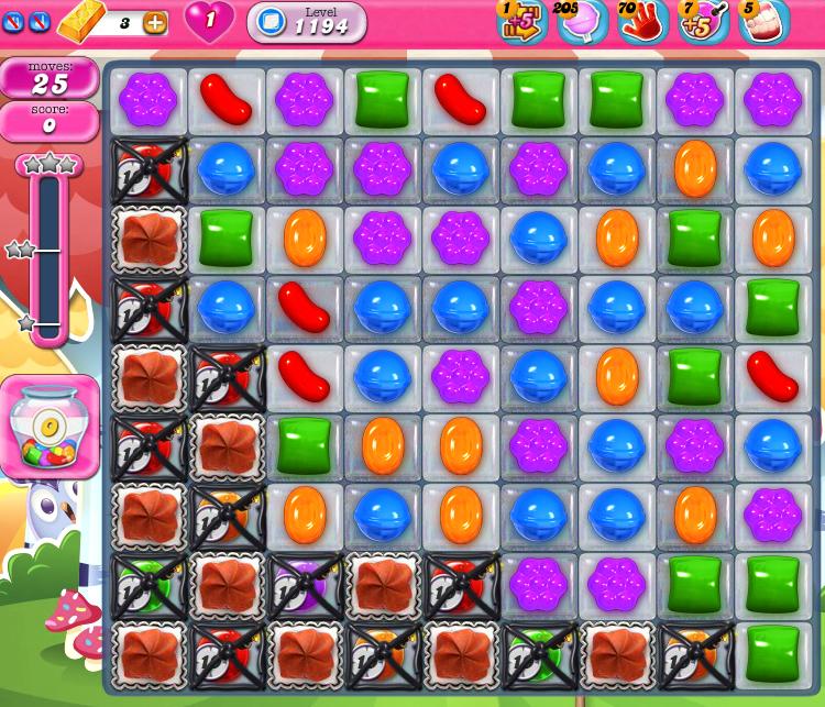 Candy Crush Saga 1194