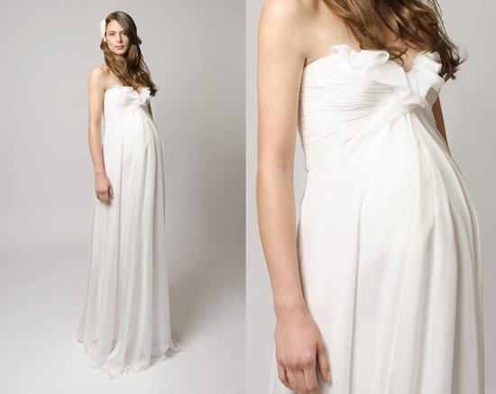 Whiteazalea maternity dresses looking great on the for Designer maternity wedding dresses