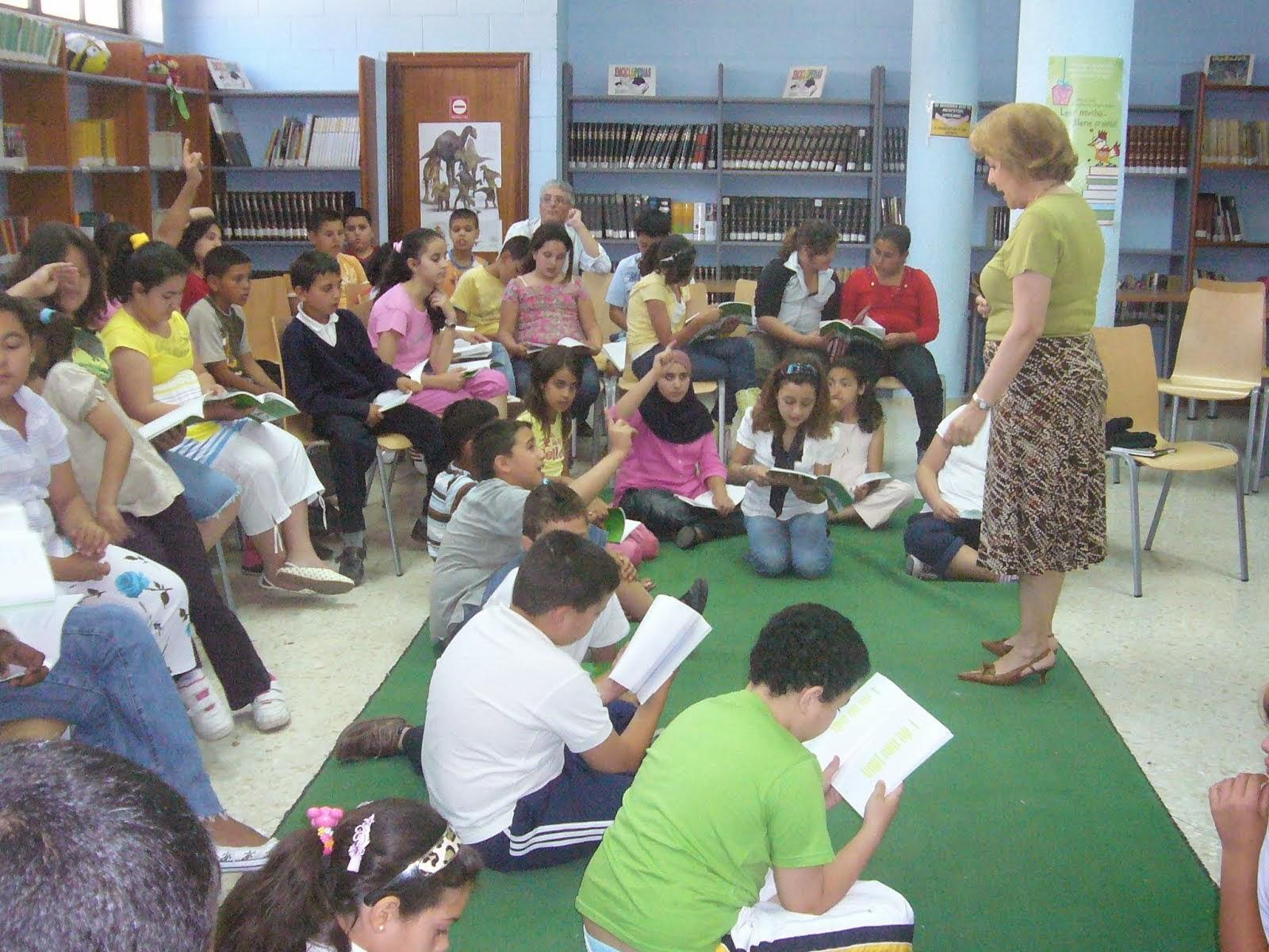 Alumnos en Ceuta
