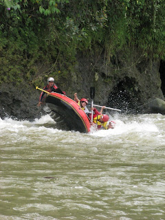 Flip Accident Rafting
