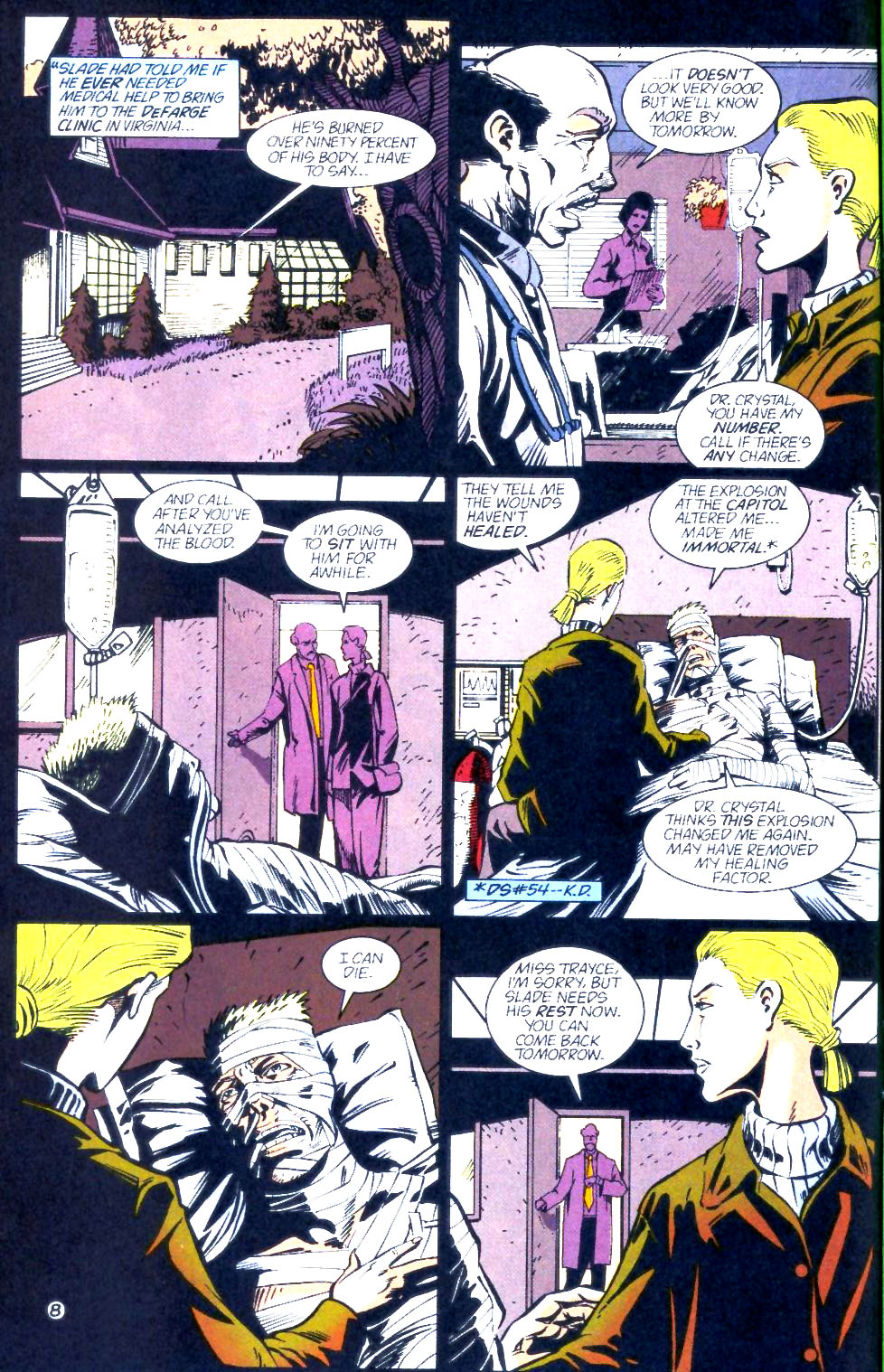 Deathstroke (1991) Issue #60 #65 - English 9