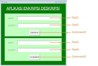 Untitled - Aplikasi Enkripsi-Deskripsi Sederhana Pada Visual Basic