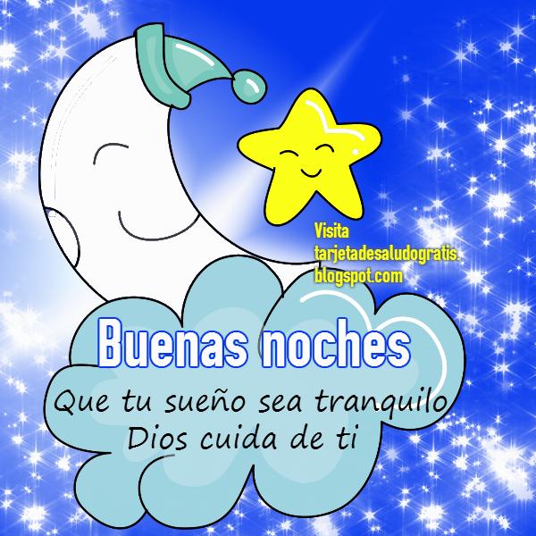 *Tarjeta de Buenas Noches* | Imágenes con Frases