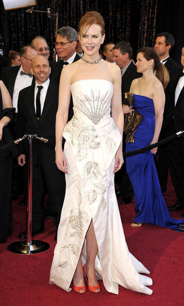 Nicole Kidman Oscars Dress. Nicole Kidman in Christian