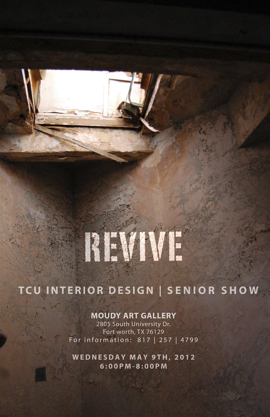 Inside inc tcu interior design senior show for Interior design firms fort worth tx