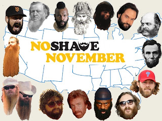 No Shave November started to raise awareness about Male Cancers