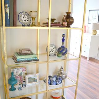 Ikea Vittsjo to Brass Etagere