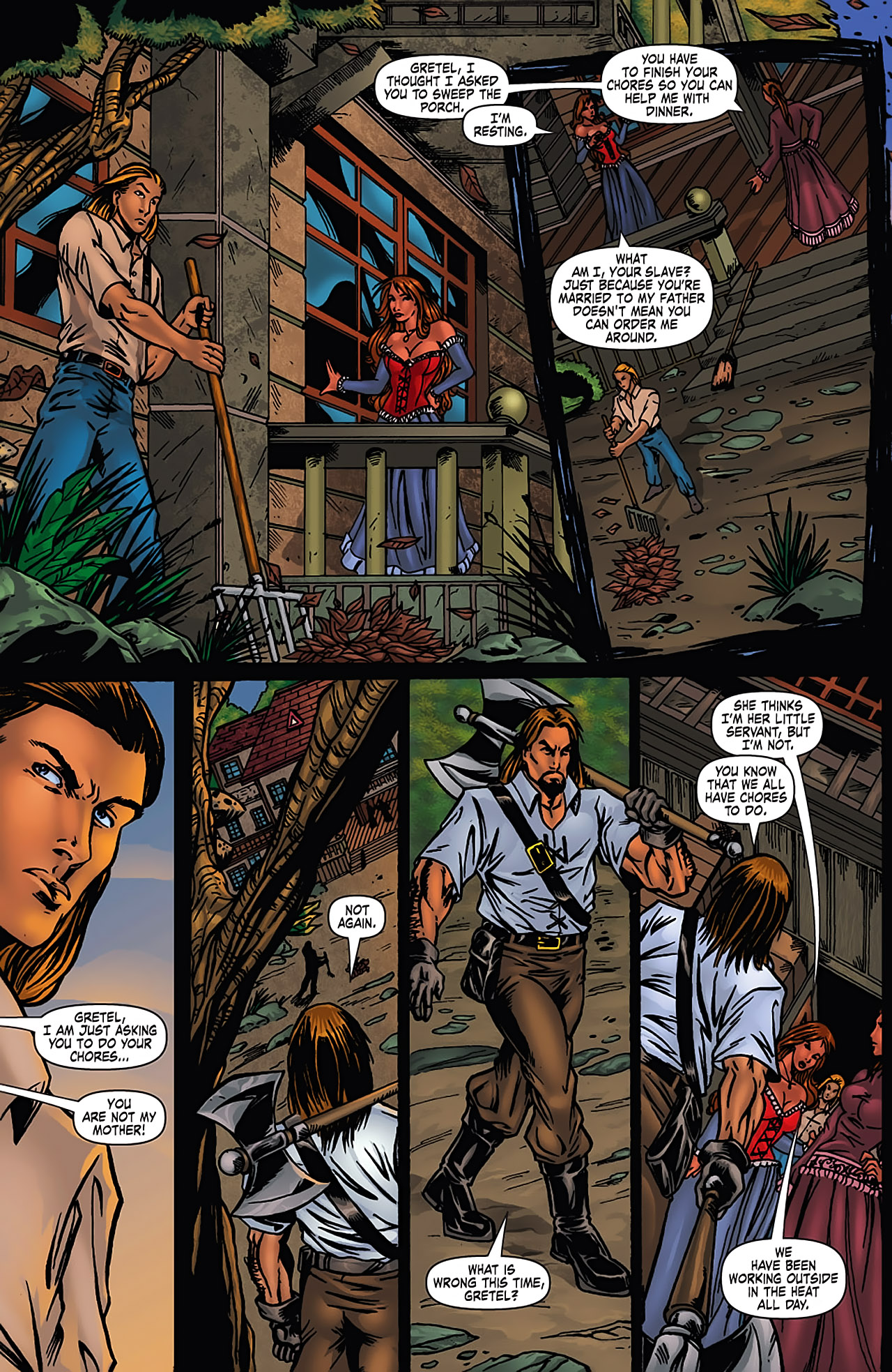 Grimm Fairy Tales (2005) Issue #3 #6 - English 6
